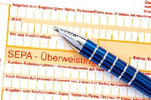 SEPA-Ueberweisung